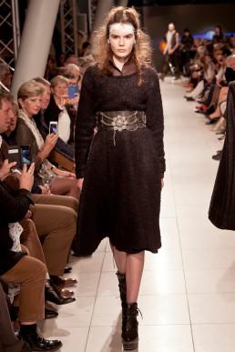 dress by JAN BOELO catwalk fashion show
