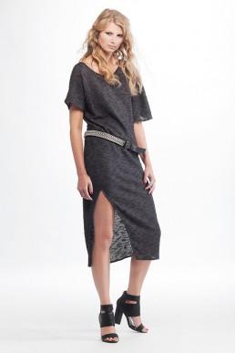 grey dress Jan Boelo