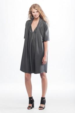 grey dress JANBOELO