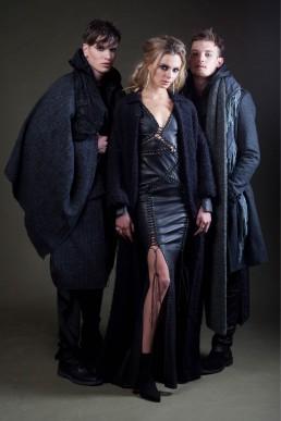 Jan Boelo leather dress models custom made