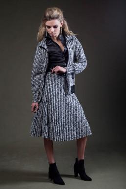 skirt and jacket by JANBOELO custom made