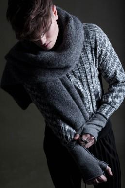 Model by jan boelo grey