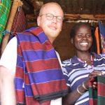Jan Boelo buying nakatukok in Moroto Uganda
