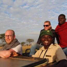 Jan Boelo visiting Kidepo Valley National Parc in Uganda