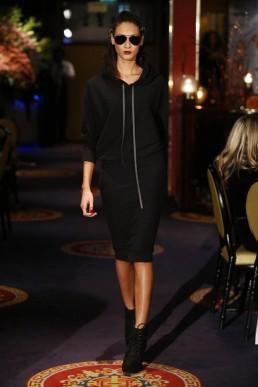 JANBOELO   hooded dress designed by JanBoelo
