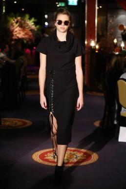 JANBOELO   laced skirt designed by Dutch designer JanBoelo