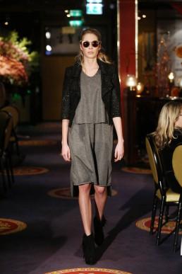 janboelo runway grey dress sunglasses Bolon Eyewear