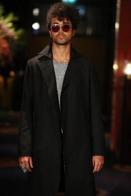 JANBOELO black coat designed by JanBoelo Bolon Eyewear